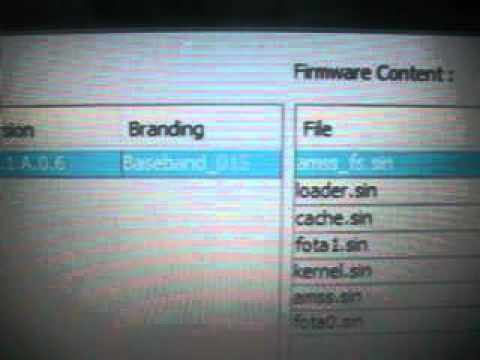 Como Actualizar Banda Base 006 A 015 XPERIA X8