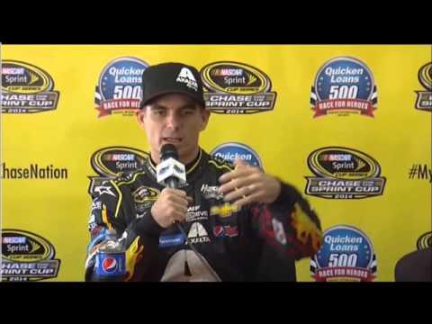 Video Jeff Gordon Friday Interview Phoenix NASCAR