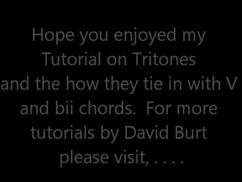 Understanding Tritones