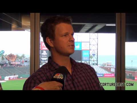 Interview with SF Pitcher Matt Cain at 2015 Media Day