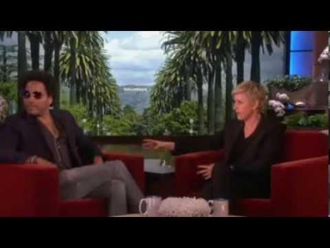 Ellen the Matchmaker: Carmen Electra and Lenny Kravitz on Ellen show