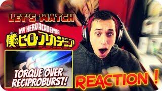 RECIPROBURST!!!  LET'S WATCH My Hero Academia *SEASON 2* Episode 5(18) REACTION!!
