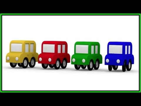 CGI Color Cars Cartoons ⭐︎ THE MAGIC ARCH ⭐︎ Learn Colors for Kids - GREEN