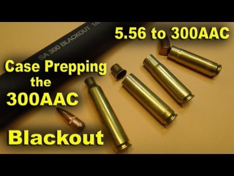 300 AAC Blackout and the Basics of the Cartridge