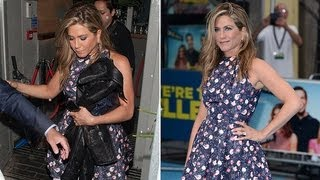 Jennifer Aniston Does Stripper Talk and Afterparties in London! | POPSUGAR News
