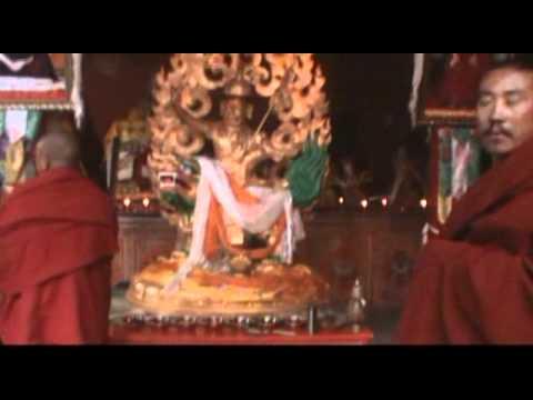 Shugden Statue Huge Dorje Shugden Statue at