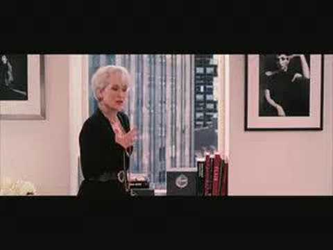 The Devil Wears Prada. Trailer Video