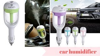 Air Freshener Essential Oil Car Fragrance Humidifier and Diffuser