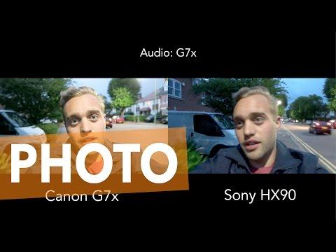SENSOR SIZE?! - Sony HX90 (1/2.3) VS. Canon G7x (1)