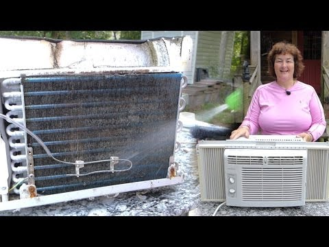 How to Clean A Window Air Conditioner The Easy Way