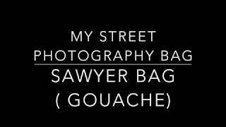 inside my street photography bag