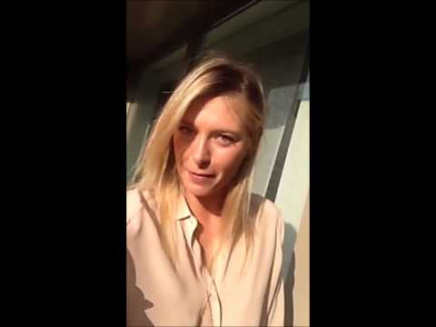 Official Video - Maria Sharapova Message