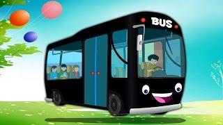 Les roues de l'autobus | Bus Chanson pour les enfants | françaises Comptines | The Wheels On The Bus