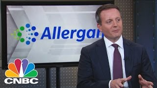 Allergan CEO Brent Saunders: Inside The Massive Deal With Pfizer   Mad Money   CNBC