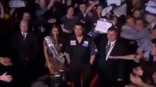 All Premier League Darts 2014 Players - Walk On