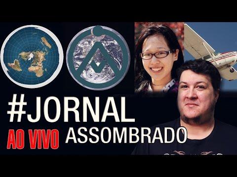 J.A.#20: Elisa Lam - Avião Fantasma Canadá - Explicando Nosso Logo - Terra Plana: O Modelo Atual