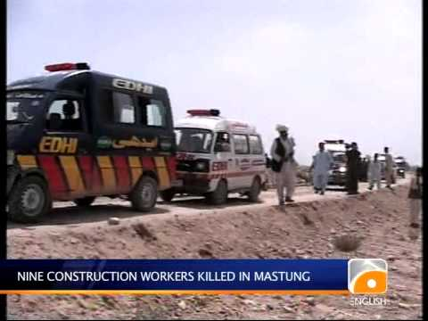 Geo News Summary- Khi Rescue, Mastung Killing video
