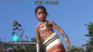 Christmas Kokborok song mwthangnai Jisu- Sriti Debbarma(Galili baptist church)