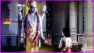 Prahlada Prays Lord Vishnu (Climax Scene) - In Bhaktha Prahlada Telugu Movie