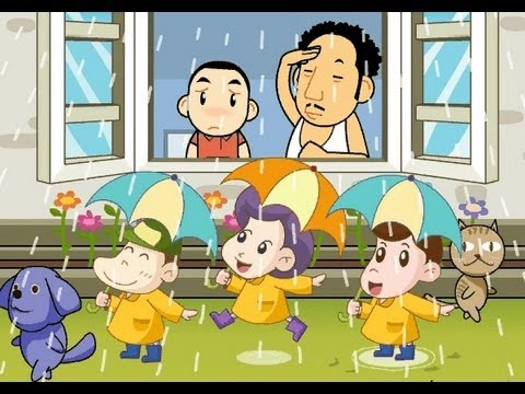 Muffin Songs - Rain Rain Go away  | nursery rhymes & children...