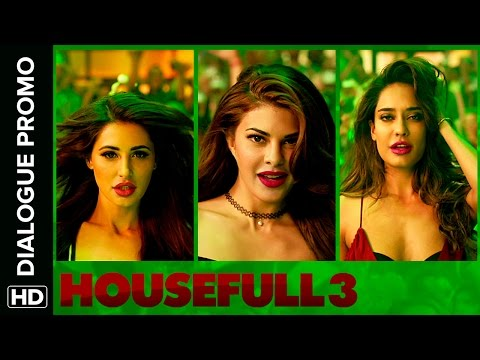 Jacqueline, Nargis & Lisa Have A Hindi Problem | Housefull 3 | Dialogue Promo