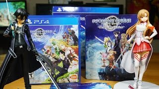 Sword Art Online Hollow Realization Collector's Edition Unboxing - ソードアート・オンライン