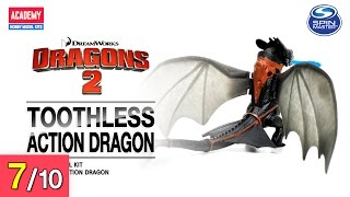 [REVIEW] 투슬리스 액션드래곤 - Toothless. Action Dragon