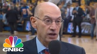 NBA Commissioner Adam Silver On Business Of Basketball | CNBC