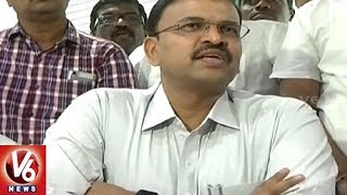 Ex CBI JD Lakshmi Narayana Has Submitted His Resignation | V6 News