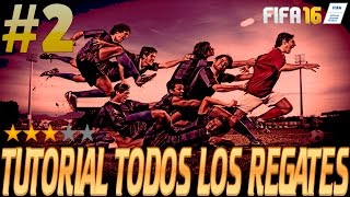 FIFA 16 - TUTORIAL TODOS LOS REGATES Vol#2 REMEMBBER1977