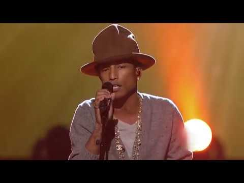 Pharrell Williams & Brad Paisley  -  Here Comes The Sun (Tribute To The Beatles, 2014),  HQ Audio