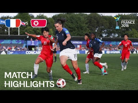 France v Korea DPR - FIFA U-20 Women's World Cup France 2018 - Match 25
