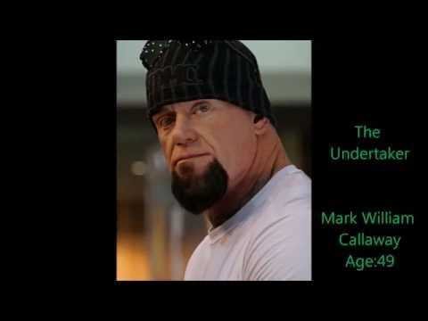 WWE Wrestlers Real Names And Ages 2014