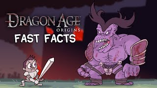 Dragon Age - Fast Facts!