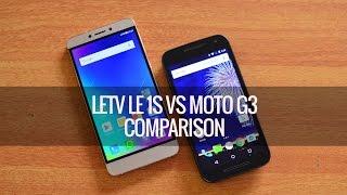LeEco (Letv) Le 1S vs Moto G3- Detailed Comparison