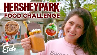 Ultimate Hersheypark Food Challenge: Trying All Of The Chocolatey Treats