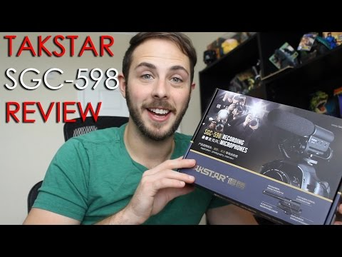 TAKSTAR SGC 598 DSLR Camcorder Condenser Microphone Review