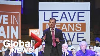 LIVE: 'Leave Means Leave' supporters hold rally in London