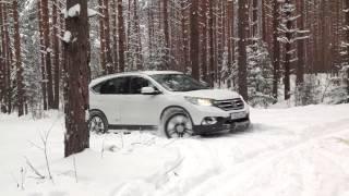 Honda CR-V Премьерный тест-драйв