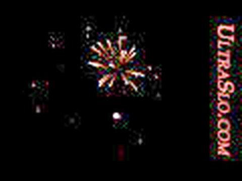 FireWorks in UltraSlo well very slow motion.