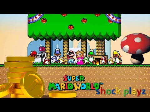 SHOCK PLAYZ SUPER MARIO WORLD (SNES) | Retro Week Childhood Memories