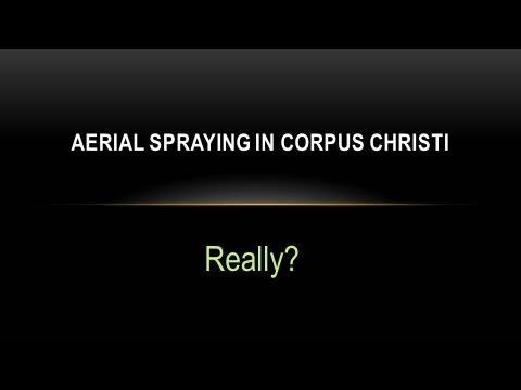 Aerial Spraying for West Nile Virus - Corpus Christi, TX
