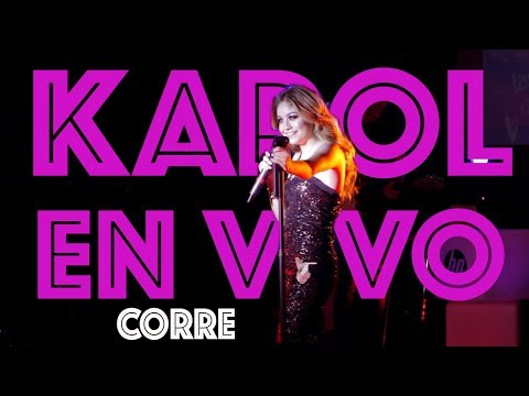 Karol Sevilla I En Vivo HP On Live I Corre