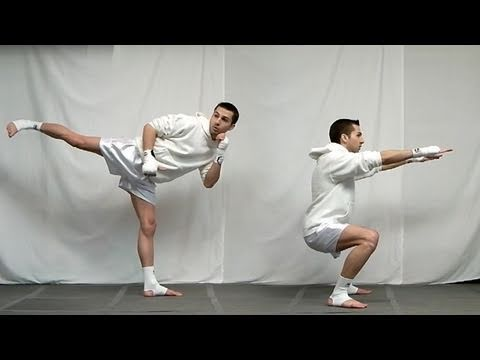 Taekwondo Lower Body Strength Drills (Kwonkicker)