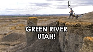 I HIT THE SEMENUK DROP! - Insane FREERIDE Playground!! Green River, Utah | Jordan Boostmaster