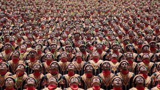 Mass Saman dance in Aceh breaks Indonesian record