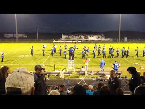 Eastern Hancock High School Marching Band(2)