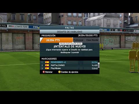 FIFA 14 - [JUEGOS DE HABILIDAD] 12 . TIROS LIBRES