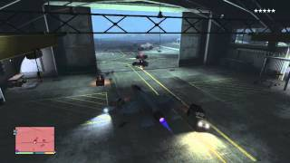 GTA V - How to steal fighter jet from military base