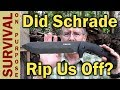 Hollow Grind Schrade SCHF43 Jessica X - Rip Off Or Honest Mistake?